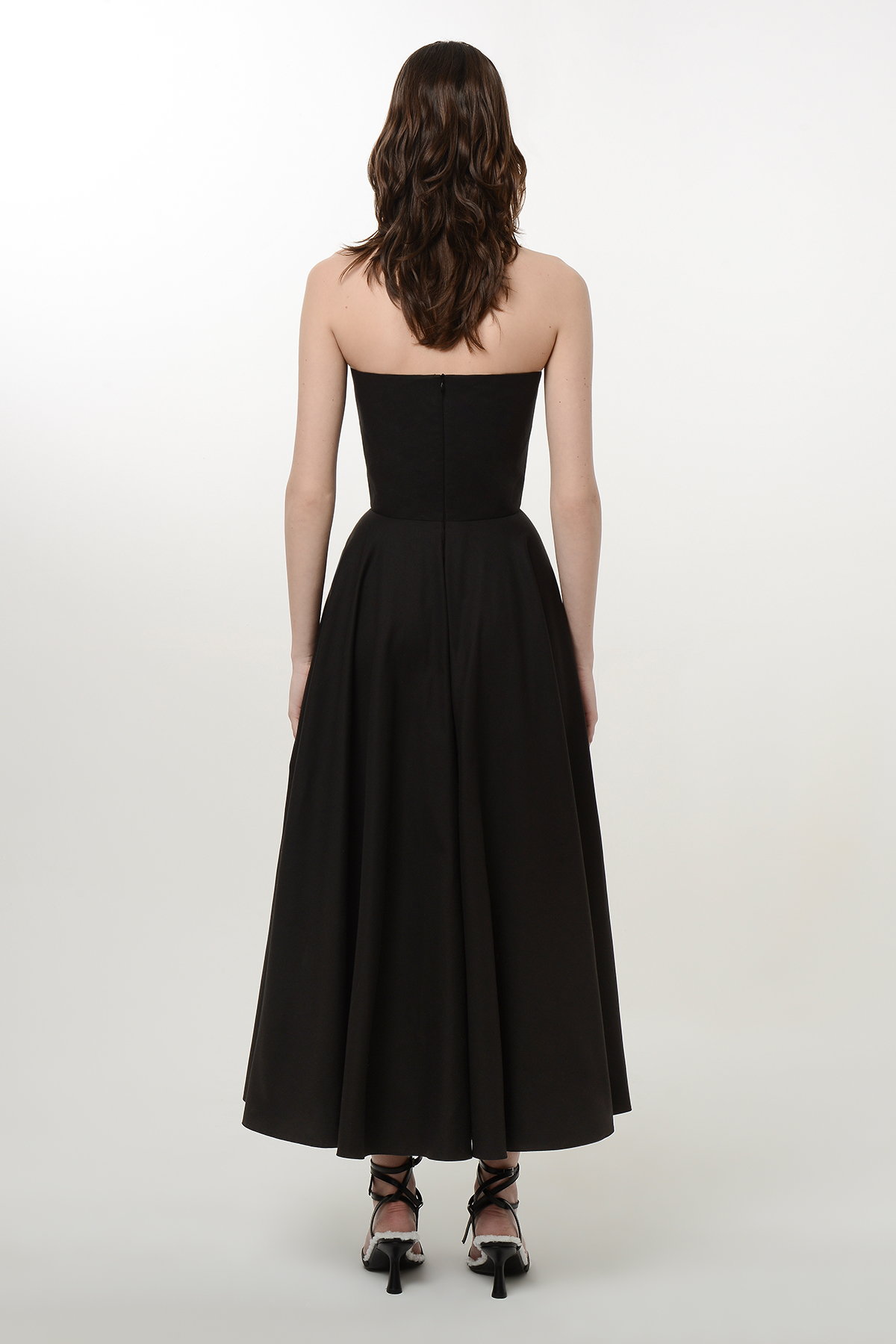 Corset style flare heart dress 2