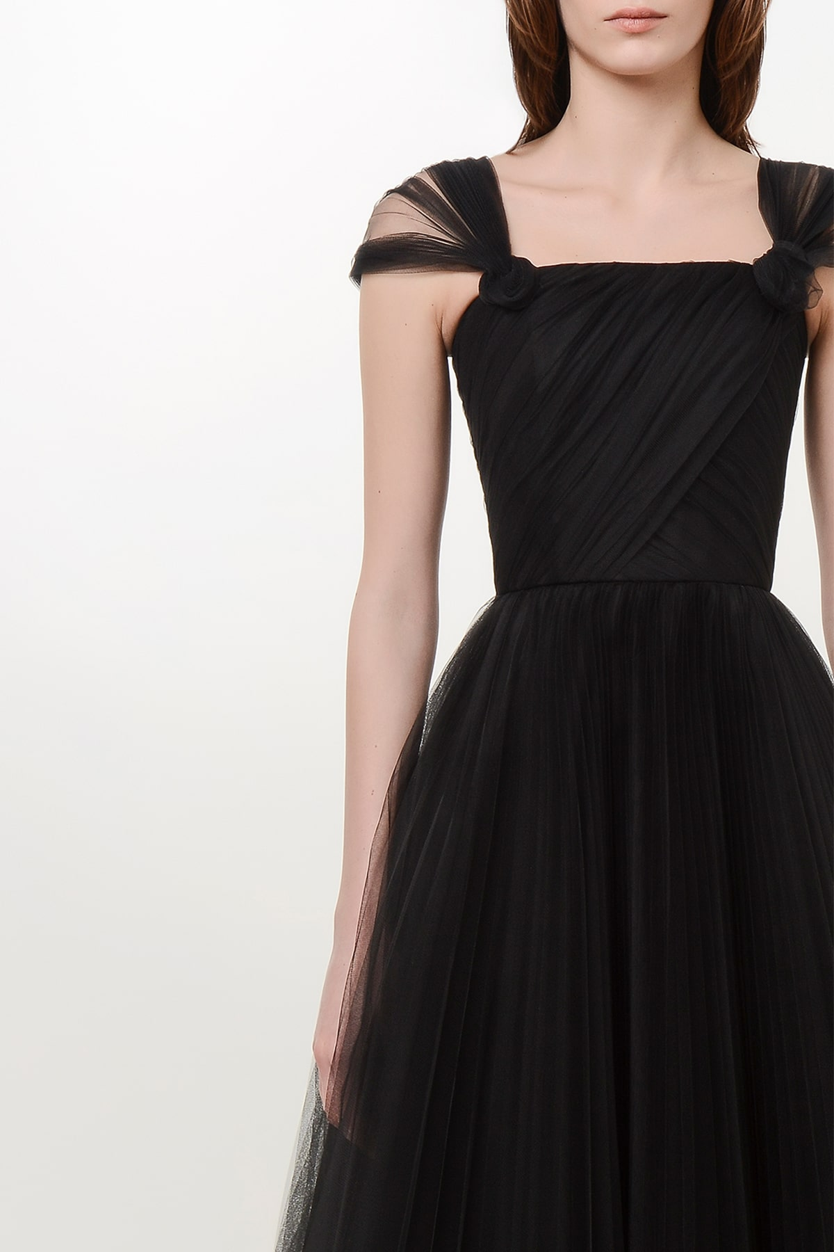 Corset style tulle dress 3
