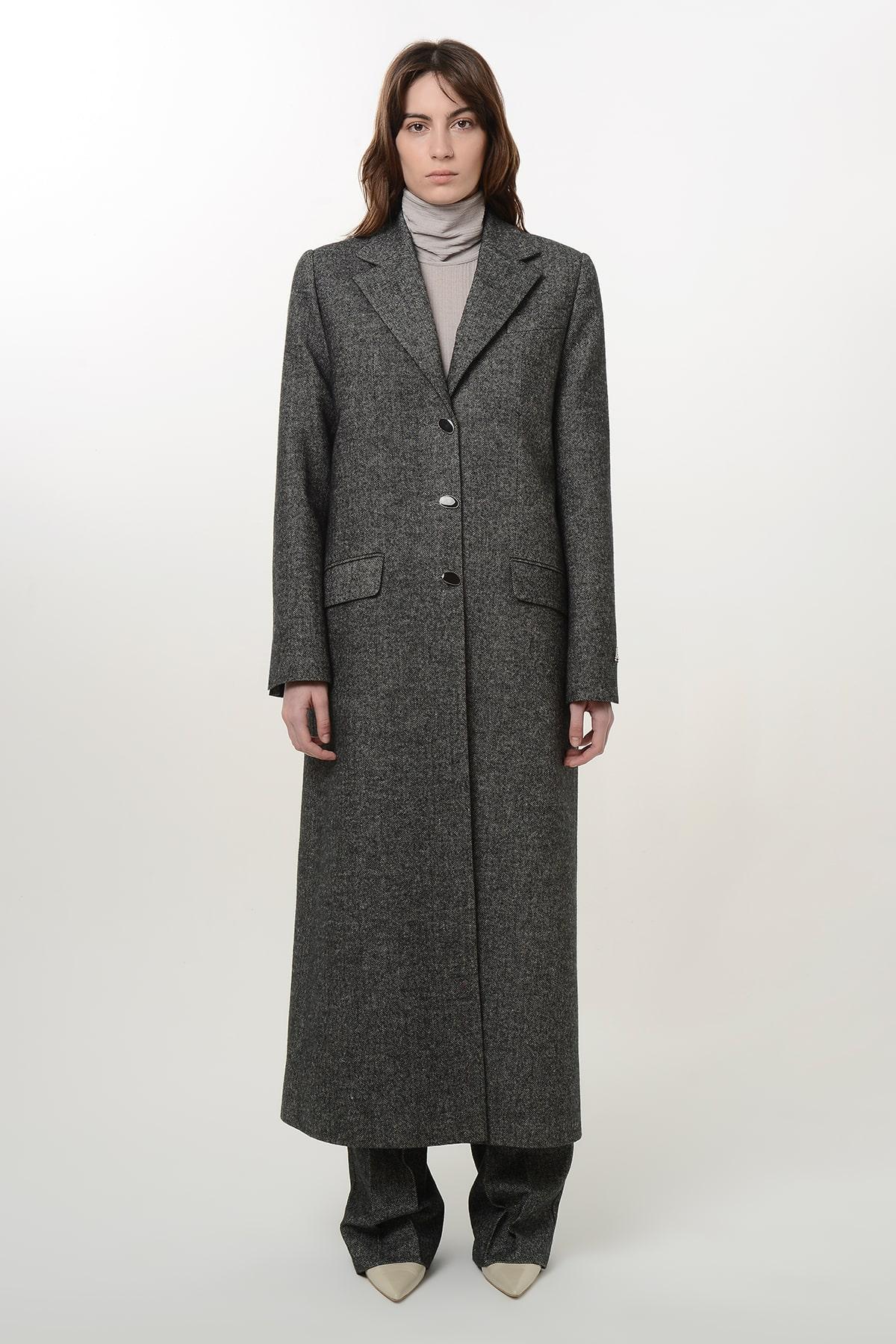 Tweed coat 1