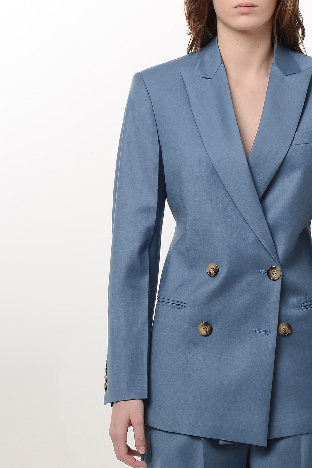 Slim waist wool blazer 3