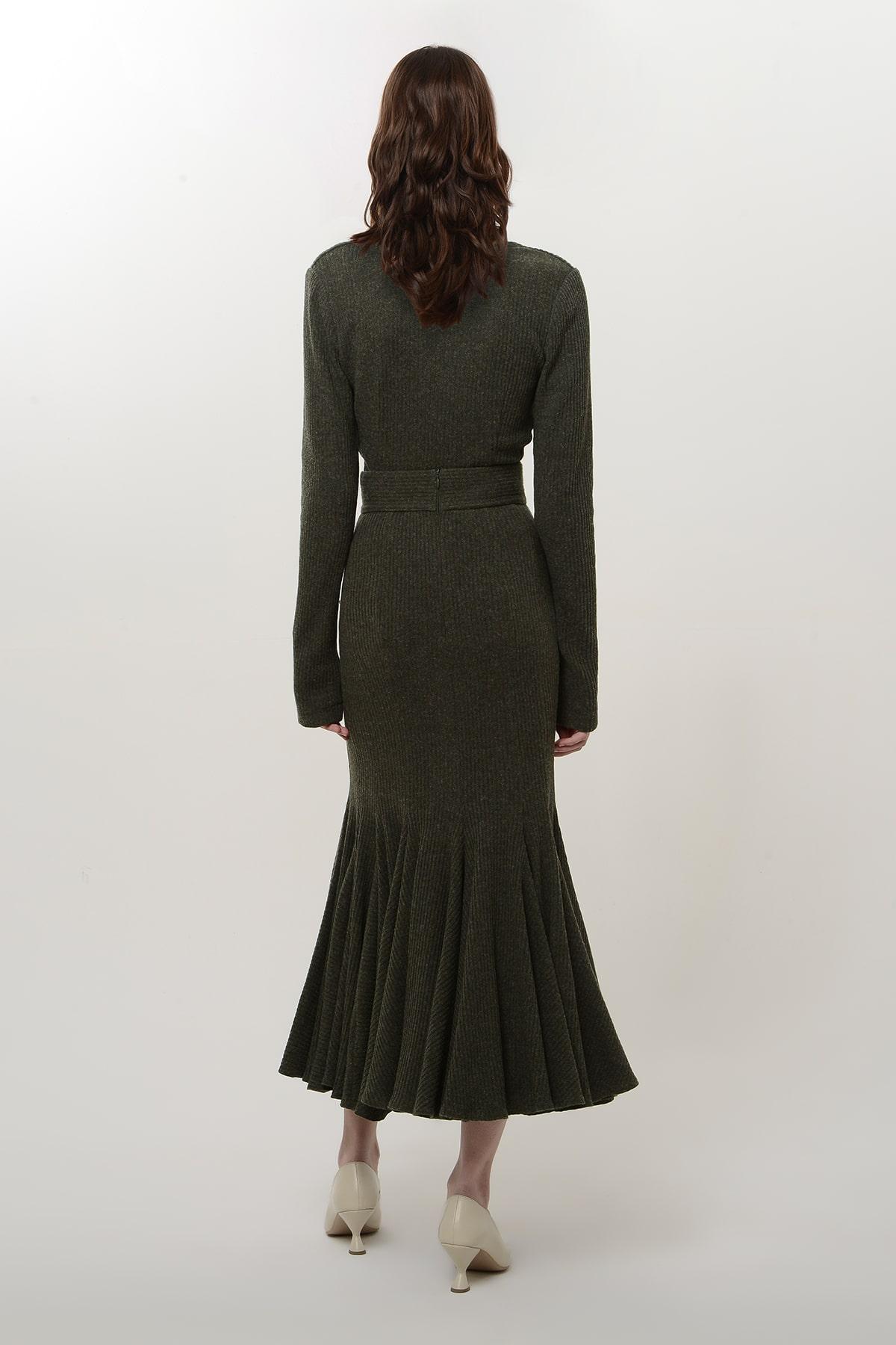 knitted godet skirt 2