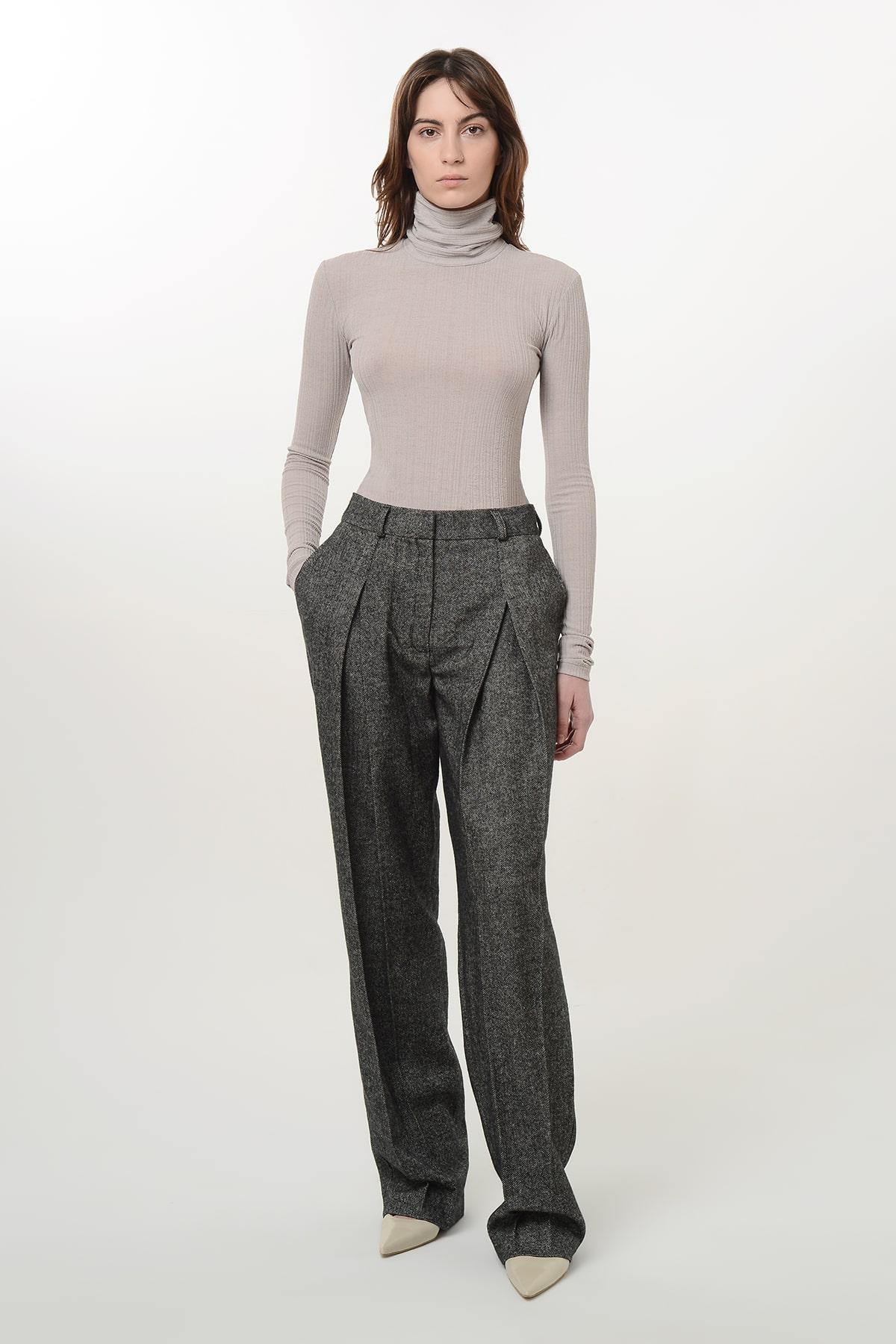 Tweed pants 1
