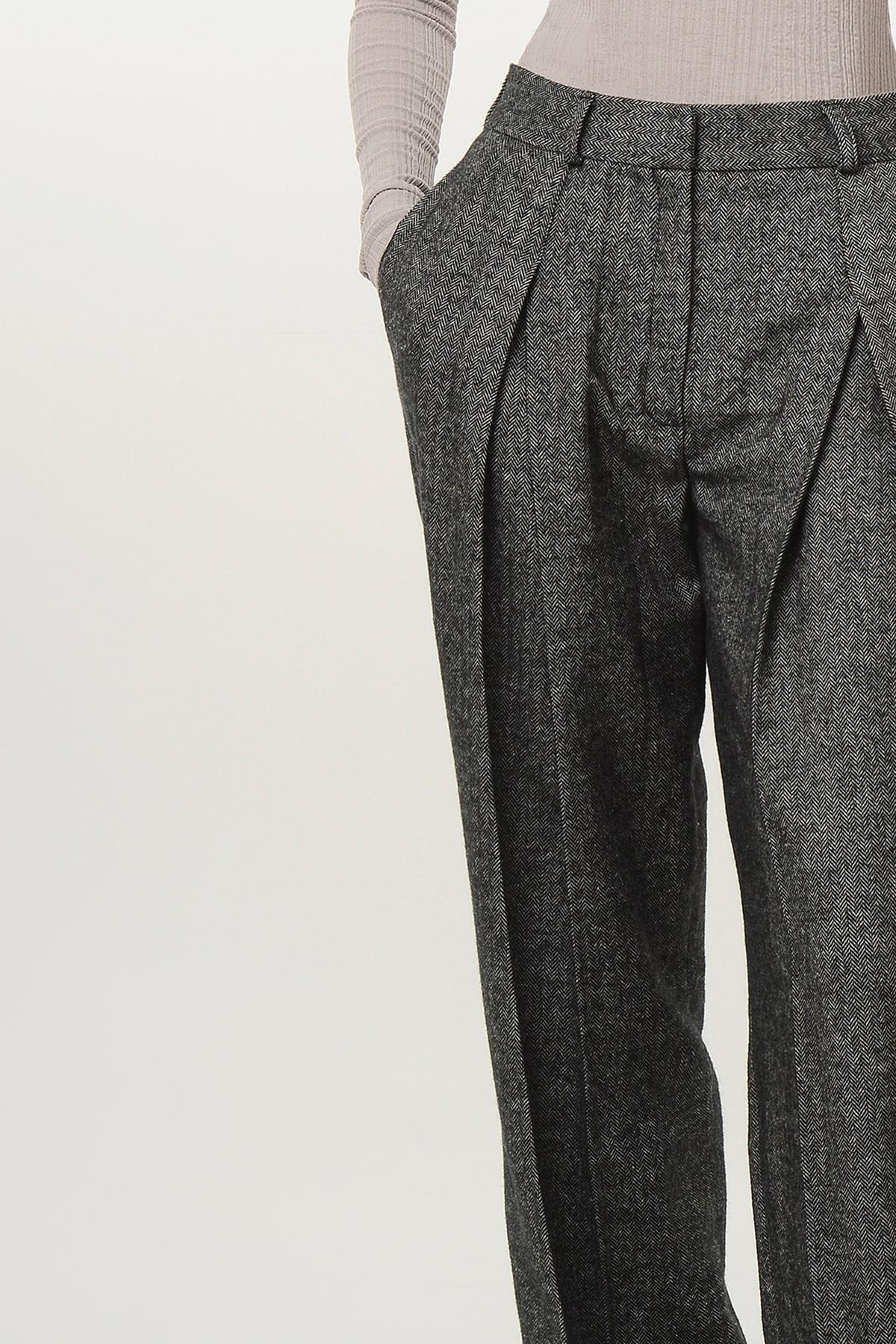 Tweed pants 3