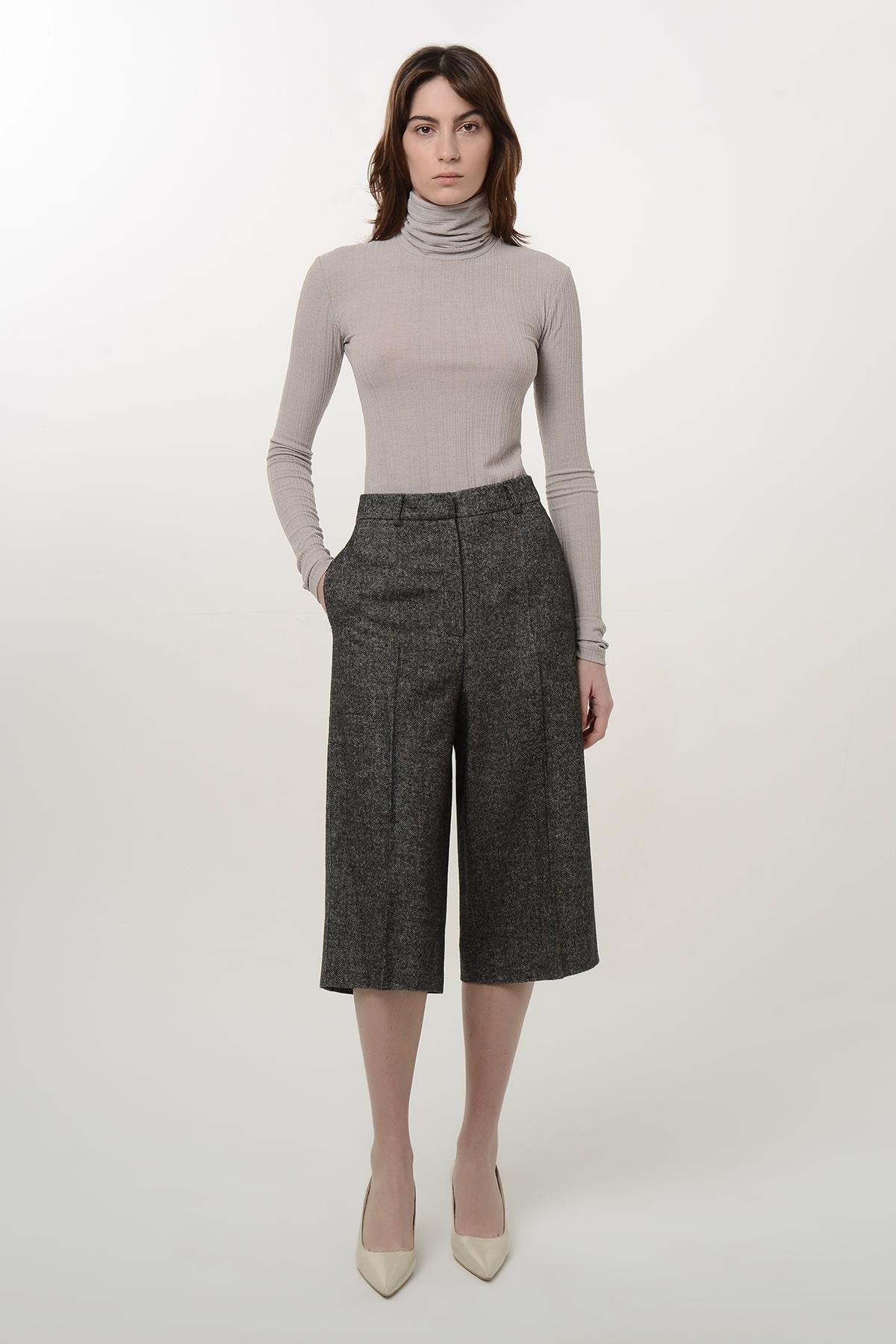 Tweed bermuda shorts 1