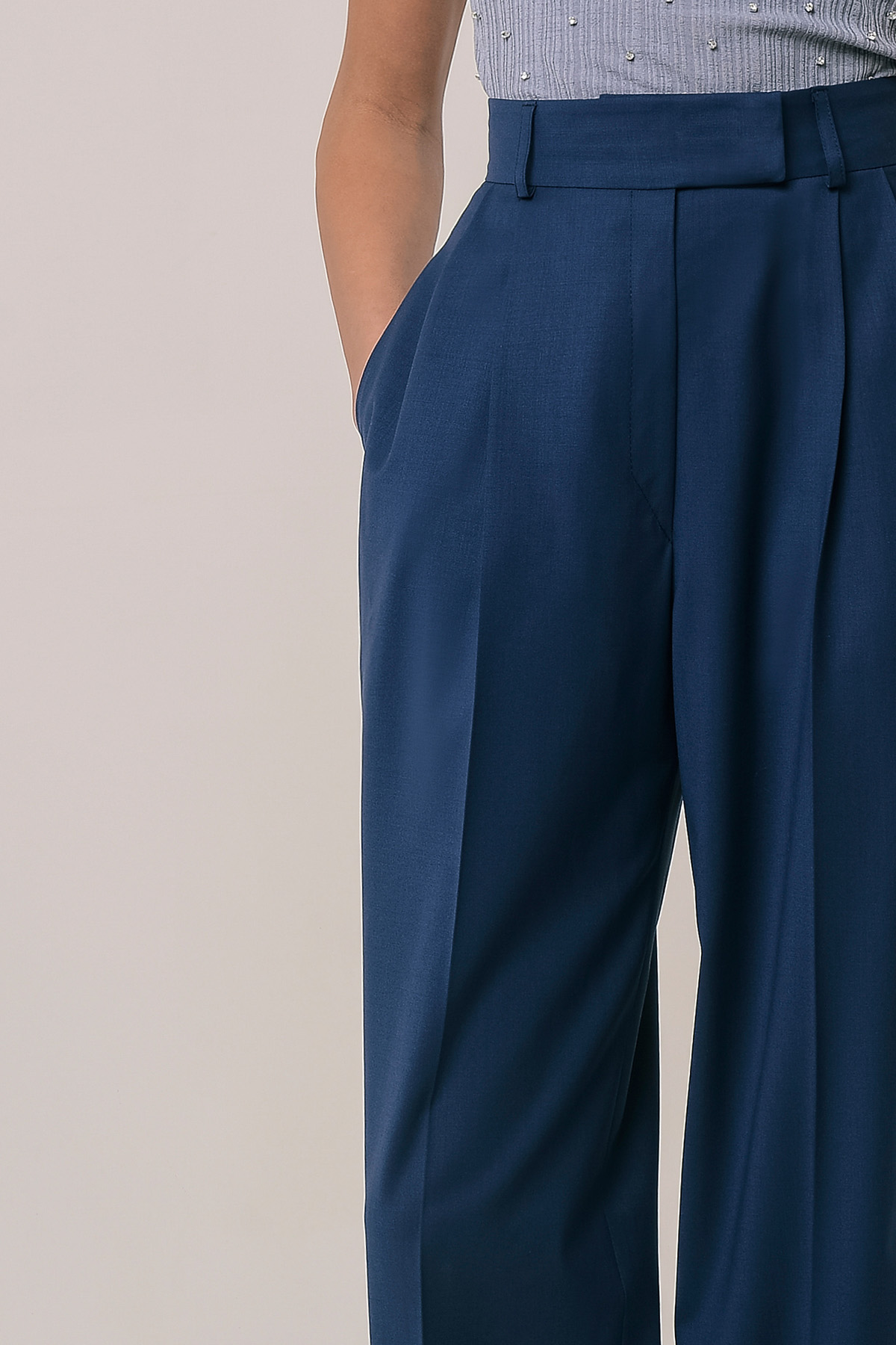 High waisted wool pants 3