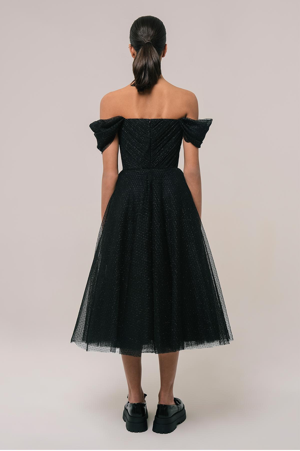 Corset style tulle dress 2