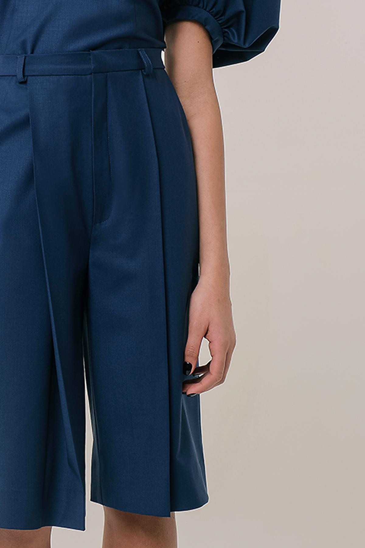 High waisted wool bermuda shorts 3