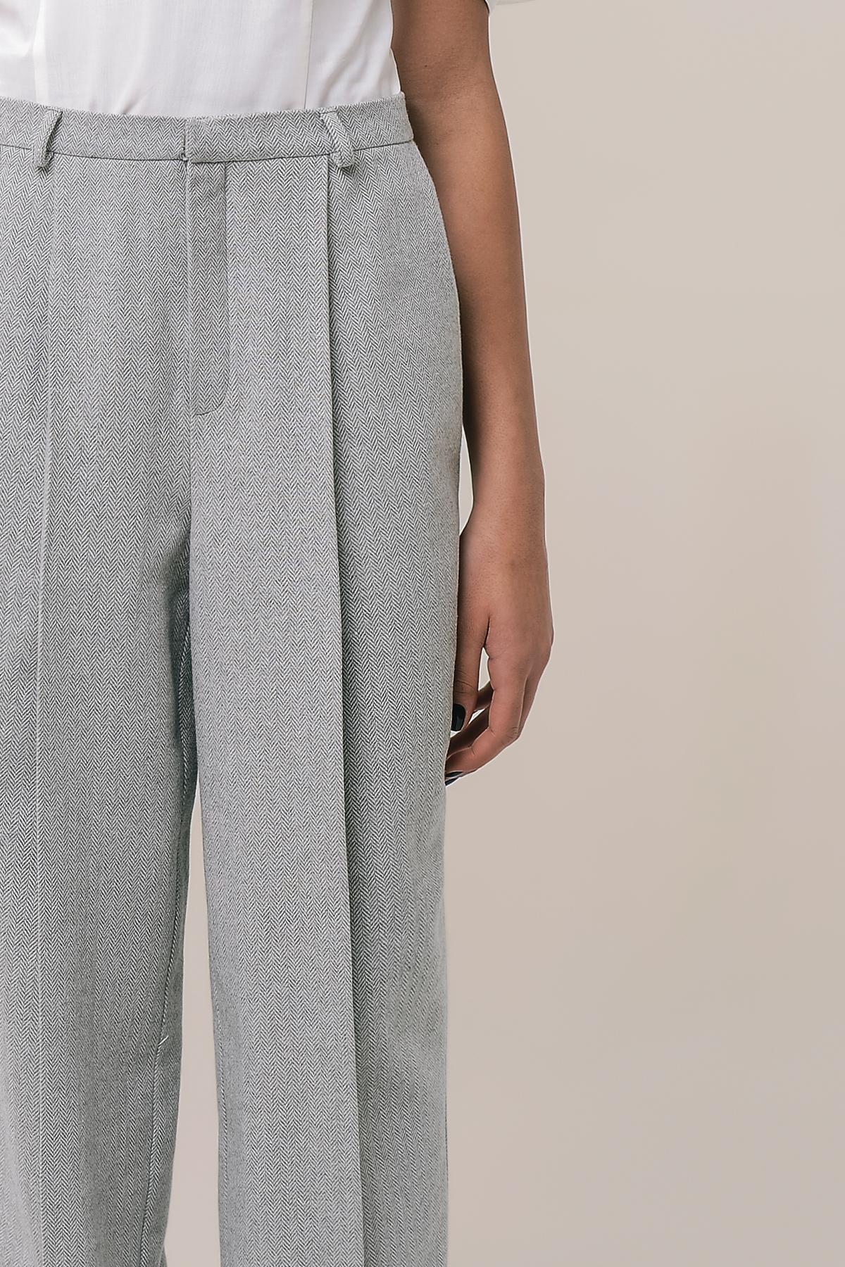 Men's style tweed pants 3